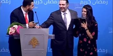 Vidéo: Saad Hariri complice d'une demande de mariage en direct à la télé