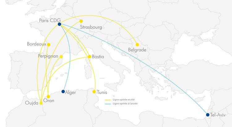 Tunisie: Une nouvelle compagnie aérienne desservira Tunis au départ de Paris