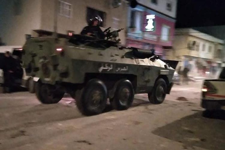 Tunisie : Les manifestations nocturnes continuent