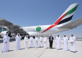 Emirates lance le premier vol de passagers 100% vaccinés (Photos)