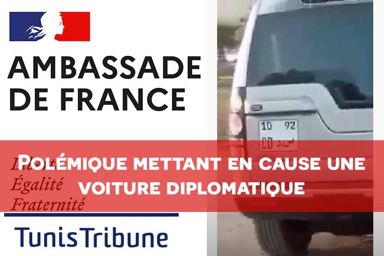 VIDEO. Polémique sur les réseaux sociaux mettant en cause une voiture diplomatique