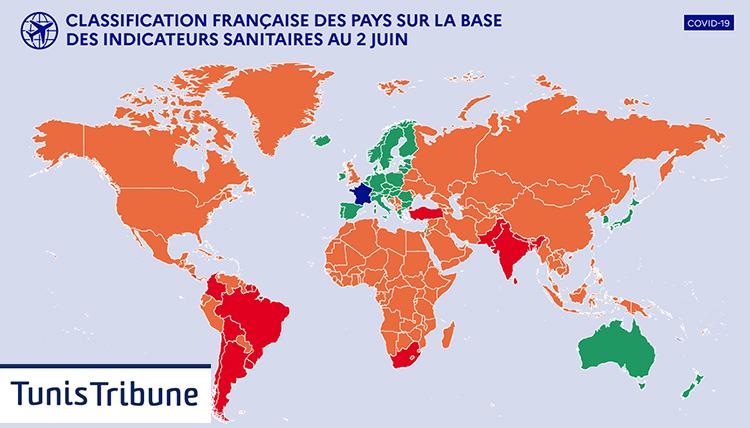 La France met une nouvelle stratégie de réouverture des frontières à compter du 9 juin