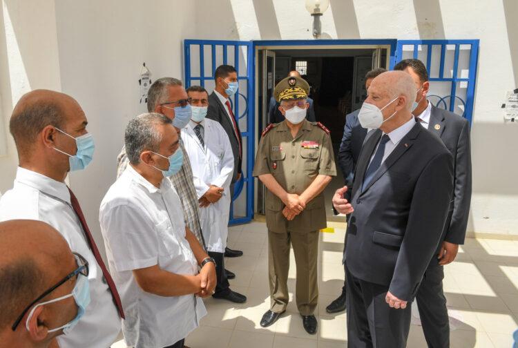 Tunisie : L'armée chargée de la crise de Covid-19, selon Kais Saïd