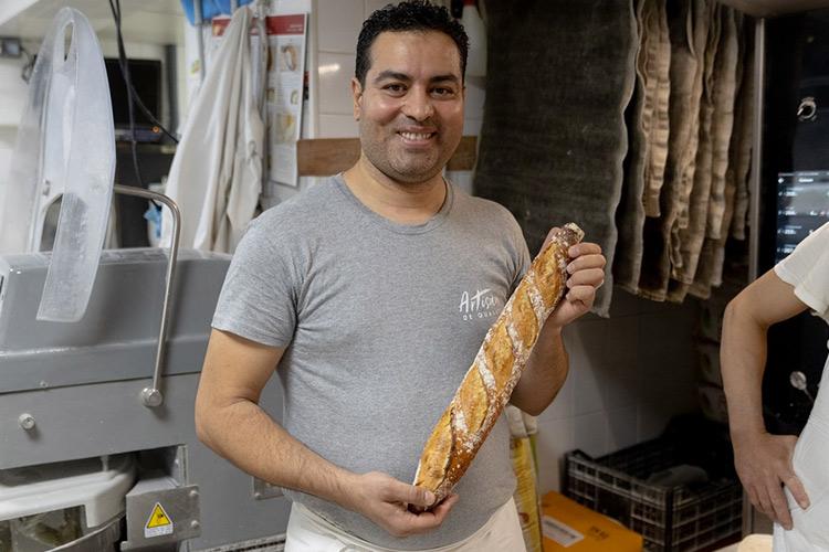 Le lauréat du prix de la meilleure baguette de Paris accusé de haine envers la France